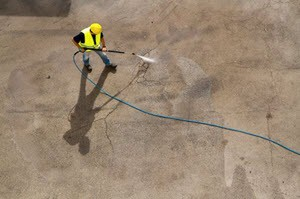 Concrete Cleaning Company in Pearland