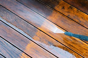 Deck Cleaning Service in League City