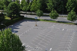 Parking Lot Cleaning Services in Webster